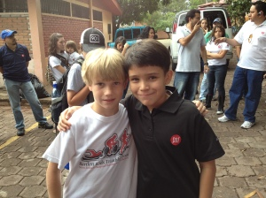 Samuel and Wilmur, from the boys orphanage.